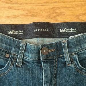 Lee COMFORT Fit STRETCH Waistband Bootleg Jeans